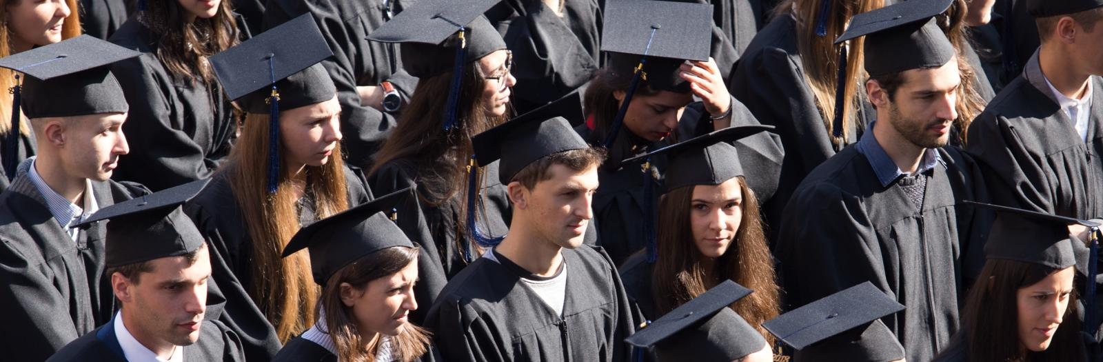 Students at Graduation Day 2018