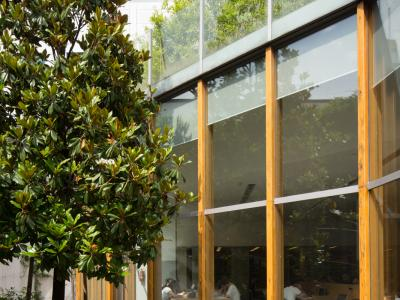 Caniana - Library, Entrance
