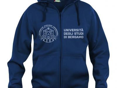 full-zip hoodie, blue, € 33,00