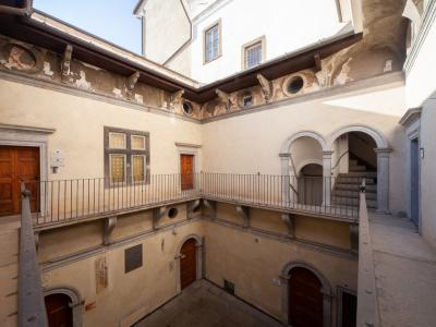 Casa dell'Arciprete - internal Courtyard