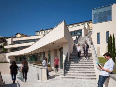 External view of Pignolo terraces
