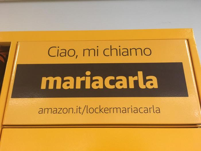 Amazon Locker Mariacarla