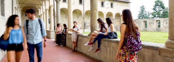 Students at Sant'Agostino