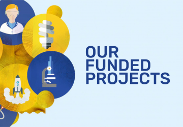 University funded projects graphic banner